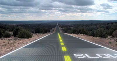 high tech roads