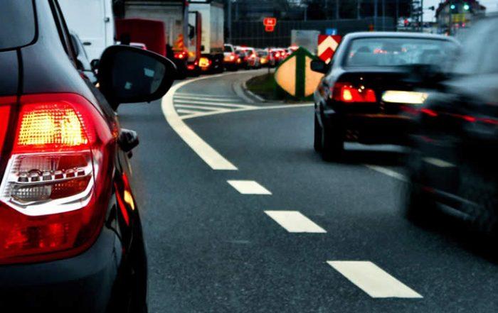 merging lanes